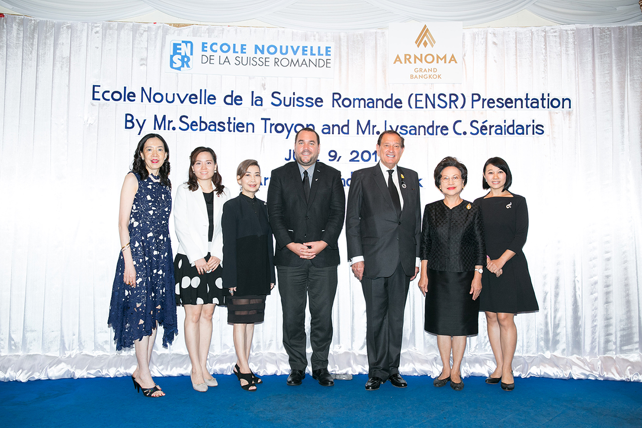 Ecole Nouvelle De La Suisse Romande ENSR Presentation GROUP PHOTO 20170612