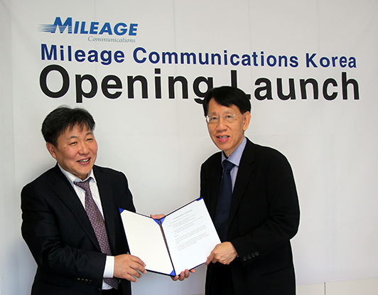Mileage Communications Opens Korea Office