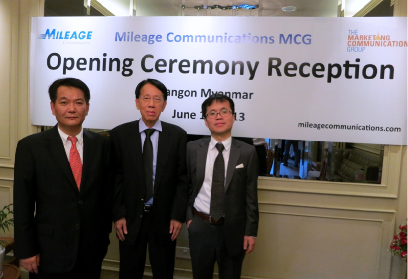 Mileage Communications Enters Myanmar