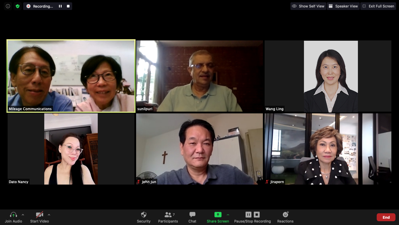 Mileage Communications Group Holds First-ever Virtual Meeting