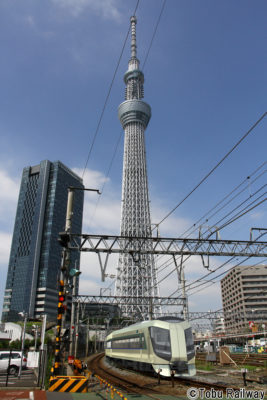 Revaty And TOKYO SKYTREE