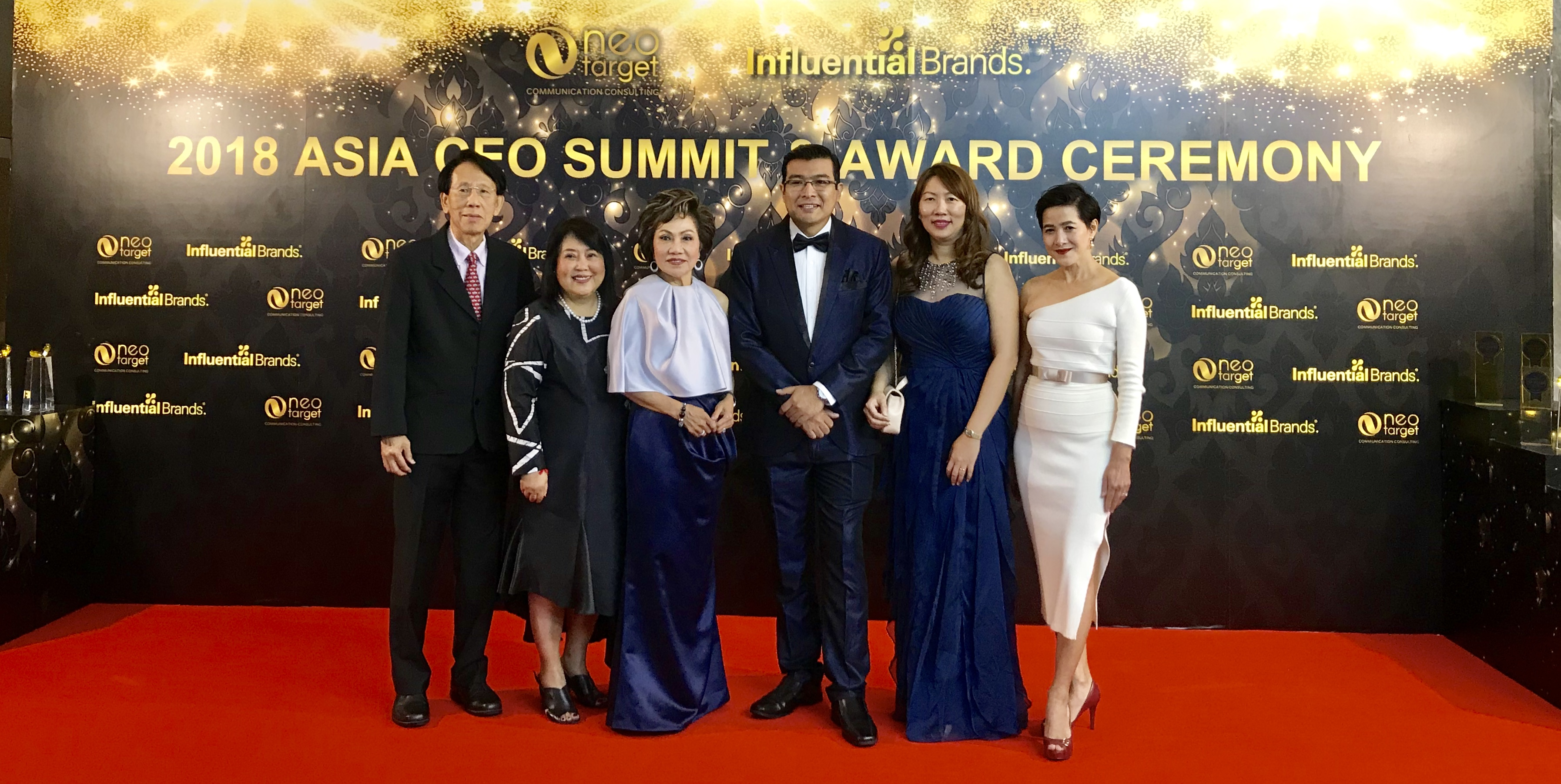 Honouring Thai CEOs and Brands