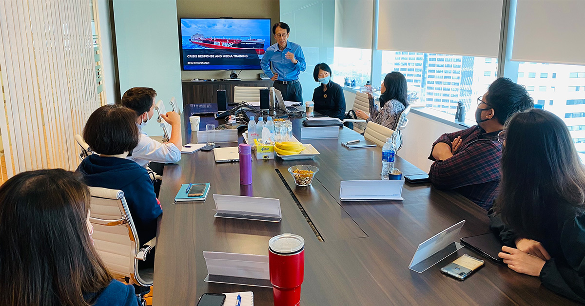 Mileage Communications Conducts Media And Crisis Response Workshops For Stena Bulk Singapore